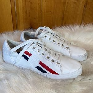 Tommy Hilfiger Lindee Striped Sneakers 8.5M